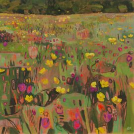 IX Foxhill, Gwent, oil on canvas, 61 x 61 cm