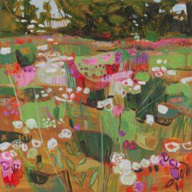 V Saltash, oil on canvas, 51 x 51 cm