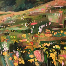 XII Binevenagh Mountain II, oil on canvas, 120 x 100 cm