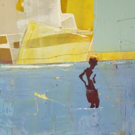 Dan Parry-Jones, Looking Towards the Sun, 30 x 42cm